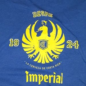 Shirts - Vintage Imperial Cerveza shirt